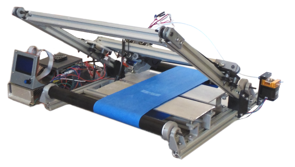 conveyor belt 3D printer iso
