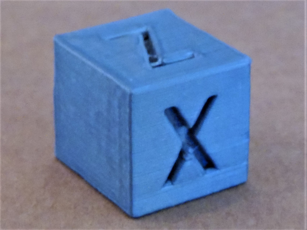 calibration cube iso x